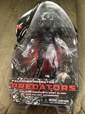 "MISP NECA PREDATOR ALIEN Series 1 FALCONER horror movie 7"" action figure AUTHENT"