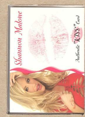 Shannon Malone 9 of 16 2003 Bench Warmer Series 3 Authentic KISS Card