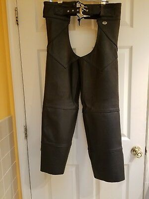 Harley-Davidson Leather Chaps Mens size-S