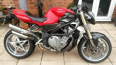 MV AGUSTA F4 750 BRUTALE 04 classic exotic streetfighter cafe racer P/X
