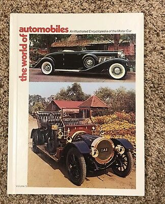 The World Of Automobiles - An Illustrated Encyclopedia Of The Motor Car, Vol. 5