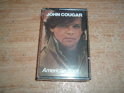 John Cougar (American Fool) Cassette (New And Sealed)