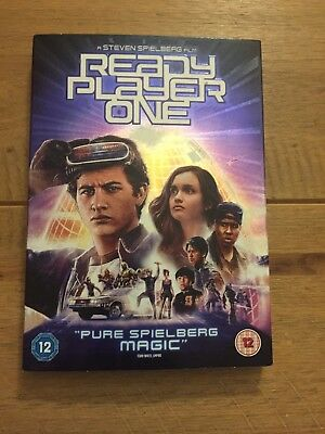 Ready Player One [DVD] [2018] - Region 2 UK