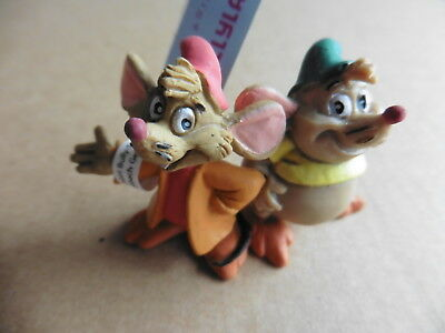 Bullyland Gus And Jaq (Cinderella) - Hand Painted Figurine - New