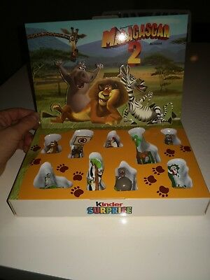 Coffret figune madagascar 2 Kinder Surprise