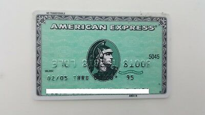 Mexico - American Express - Expired - Credit Card - Green