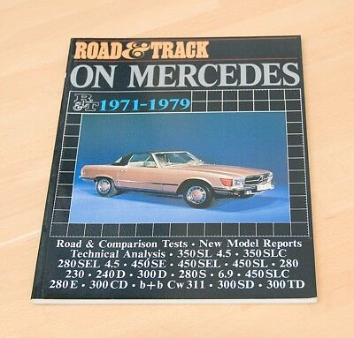 Road & Track on Mercedes 1971-1979 (Brooklands Books) NEW