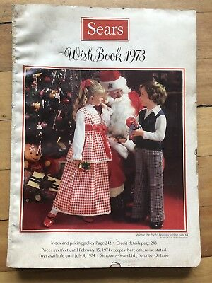Vintage Sears Catalog Wish Book 1973 Department Store Catalogue