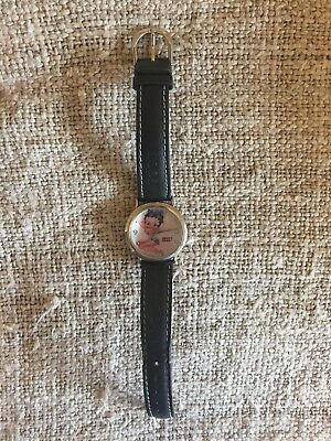 Pre Owned Excellent Shape Womens Betty Boop Watch