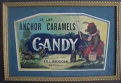 From The Nbc Archives, Sample Anchor Caramels Candy, National Biscuit Company