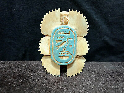 Amazing Scarab Beetle Ancient Egyptian Antique Scarab Amulet CIRCA 1284 BC
