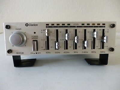 Clarion 180EQB  7-Band Graphic Equalizer