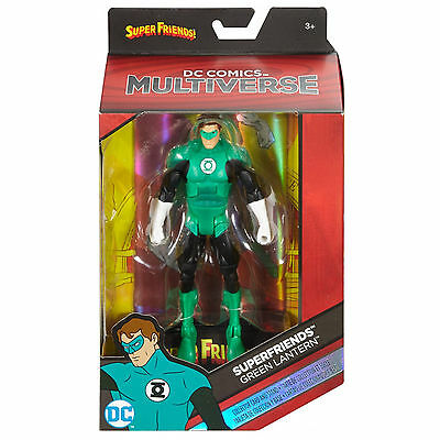 "Green Lantern ( 6"" ) Dc Comics Multiverse ( 2016 ) Super Friends Action Figure"