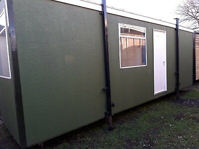 £1,700 +vat 24x9ft Timber Textured Cabin/open plan portable Office