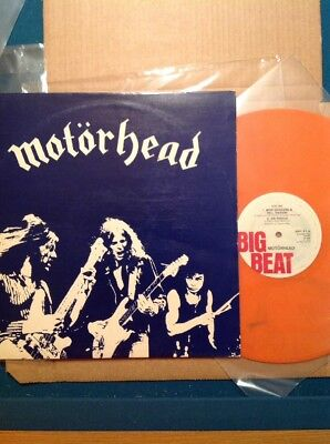 "MOTÖRHEAD - 12"" (Orange) BEERDRINKERS Org 1.Press BIG Beat 1980"