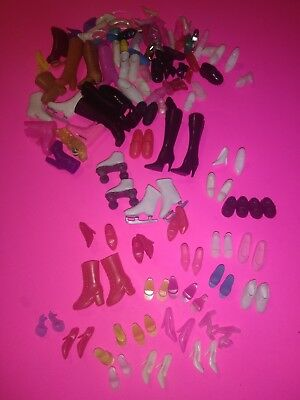Lot of Barbie Doll Shoes