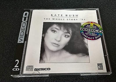 Kate Bush The Whole Story 1994 - VideoCD for CDi Player, PC & Mac - Very Rare