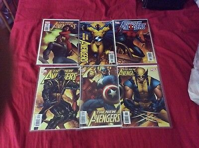 NEW AVENGERS 1 2 3 4 5 6 Variant Covers First Ronin NM+