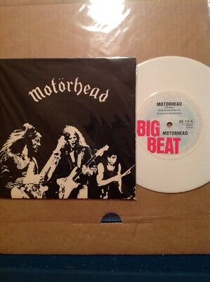 "MOTÖRHEAD 7"" - CITY KIDS (WHITE) Org 1.Press BIG Beat 1977"