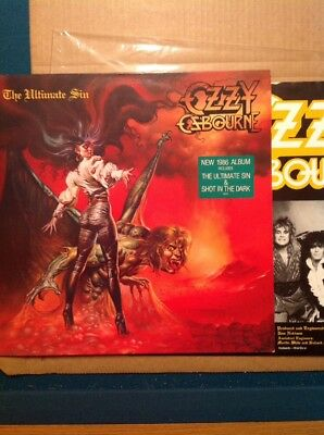OZZY OSBOURNE - ULTIMATE SIN Org 1.Press Epic 1986