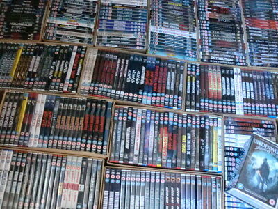 JOBLOT OF 345 BRAND NEW AND SEALED DVDs *ALL GENRES* ALL FROM LAST 4 YEARS