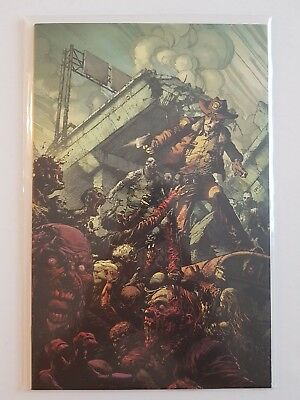 The Walking Dead #1 15th Anniversary David Finch virgin color variant limited nm