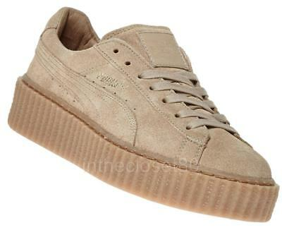 reputable site 63d2d 4bf68 puma fenty creeper beige
