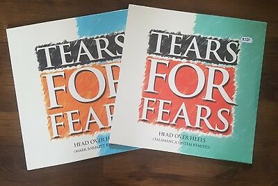 "TEARS FOR FEARS - HEAD OVER HEELS 2x 12"" VINYL SINGLES RECORD STORE DAY 2018 RSD"