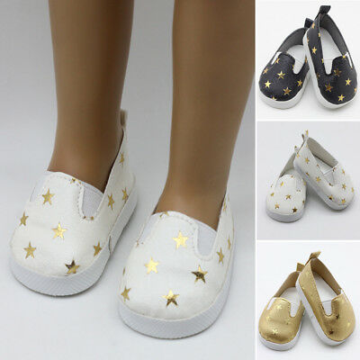 Doll shoes Born Zapf Gift Polyurethane Leather Cute Clothes Casual 43cm Baby