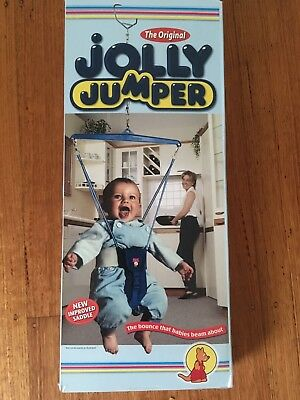baby jolly jumper and steel Frame.