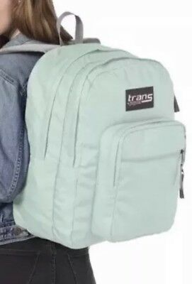 NEW TRANS JANSPORT SuperMax Backpack - Brook Green Mint