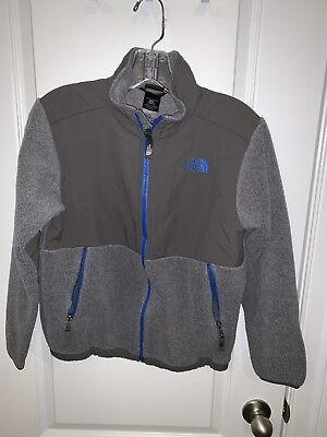 The North Face Denali Boy's Youth Size M 10/12 Full Zip-Up Fleece Jacket