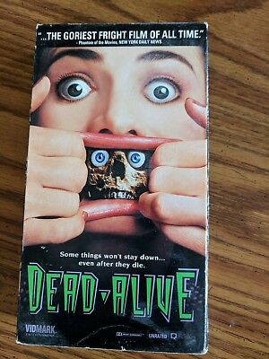 Dead Alive (VHS, 1994, Unrated Version)
