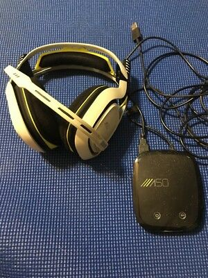 ASTRO A50 Wireless Headset and Base Station for Xbox One - White