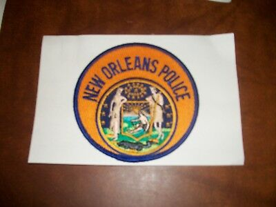 New Orleans Louisiana Police Patch New