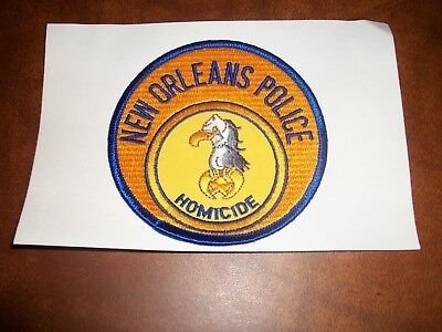 New Orleans Louisiana Homicide Police Patch New