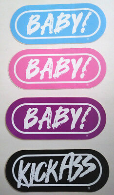 WRIF 101 Vintage 1980's Bumper Sticker Lot  BABY!