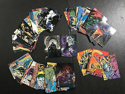 Skybox 1994 DC Comics, Batman Saga of the Dark Knight Complete 100 Card set