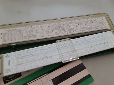 Faber Castell Slide Rule Model 2/83N Made In Germany