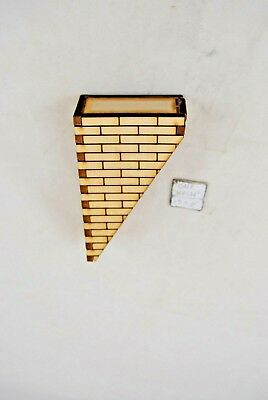 Chimney Kit: for Gable Roof  Jackson/'s Miniatures Dollhouse 1//12 scale C01