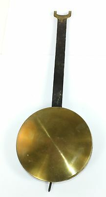 """VINTAGE 1lb. 4-7/16"""" WALL CLOCK PENDULUM BOB with w/STICK AND NUT - SP37"""
