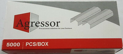 1 x Agressor staples to suit Stanley Bostitch - 6 mm B8 Staples 5000 Pack