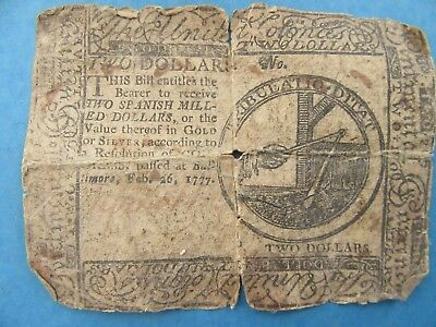 1777 Continental Currency Feb 26