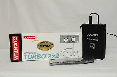 Quantum Turbo 2x2 Portable Battery Pack - MINT CONDITION in BOX