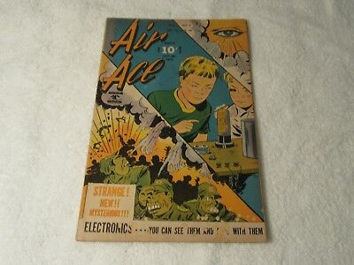 Air Ace Vol. 3 #1  Japanese WWII Cover Street & Smith Comic