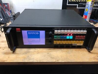 Barco Folsom Research ScreenPRO II HD w/ 3G-EOC Seamless Video Switcher & Cables