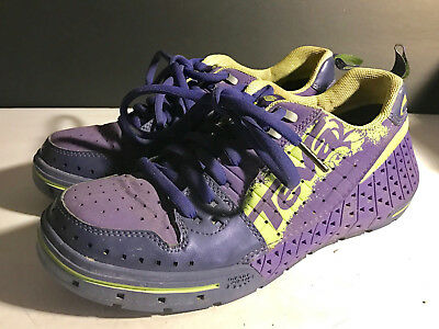 e1bac7b56 TEVA Womens 4171 Gnarkosi Kayaking River Rafting Water Shoes Purple Size 9