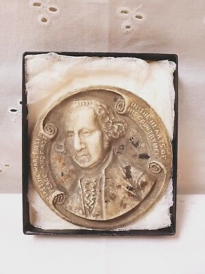 Macerated Washington Coin National Souvenir Company Portrait Made From Money
