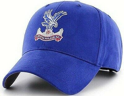 Crystal Palace Fc Embroidered Crest Adult Adjustable Blue Baseball Cap Cpfc