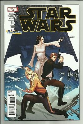Star Wars #1 (Marvel 2015), Fantastico Renaud variant, NM!